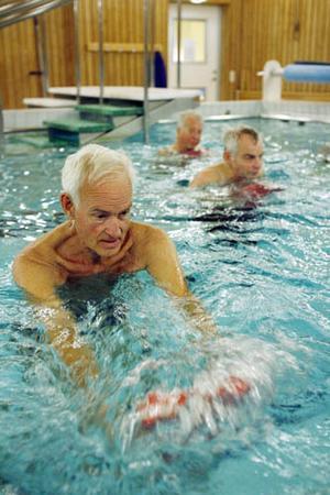 Rolf G Svedbergh ser positivt på badframtiden. Foto: Henrik Flygare
