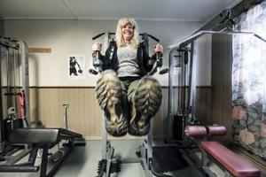 För ett par år sedan byggde Kicki Svensson tillsammans med sina anställda och ett annat företag i Hammerdal ett gym i en del av bageriet.– Viktutmaningen är en vidareutveckling av det. Sedan är det socialt väldigt roligt, säger hon.