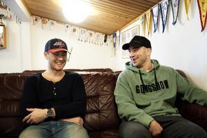 Marcus Bengtsson är tacksam för hjälpen han fick från Mike Danton när de båda träffas i Furudals hockeycenter.