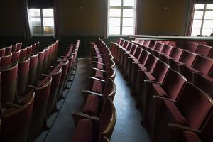 Biosalongen har används till många filmvisningar.
