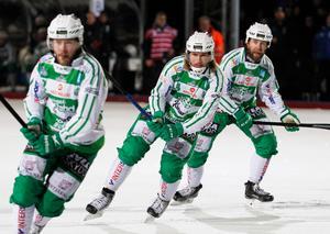 Patrik Sjöström är tillbaka i ABB Arena med sin nya klubb Jenisej.