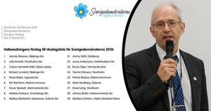 Mats Nordberg från Falun är den ende kandidaten från Dalarna som finns med bland valberedningens toppnamn till riksdagsvalet i höst.
