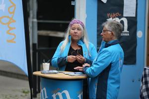 Marita Lärnestad (M) under valrörelsen 2018.