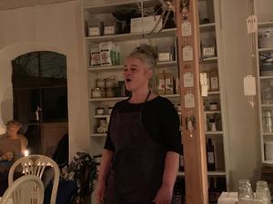 Maria Keohane bjöd på vacker sång. Foto: Cecilia Leonardsson