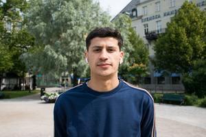 Salo Gavador, 19 år, student, Sundsvall: