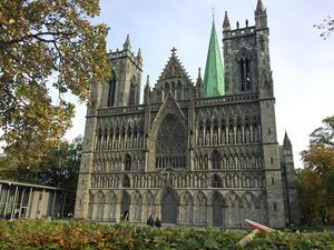 Nidarosdomen i Trondheim ingår det trönderska kulturarvet.