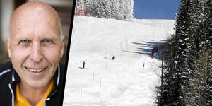 Kalle Bäckwall har fått en tuff start på sitt första år som ensam ägare av Almåsas skidbacke.