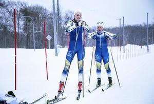 Kommer Stina Nilsson och Anna Haag att försvinna i mängden med sina blåvitgula?
