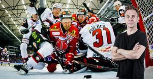 Det var en intensiv kamp, inte välspelad i alla stycken, men det blir det sällan när ett lag vill bråka sig fram, störa och slita sönder tempo och rytm, skriver NA-sportens krönikör Lasse Wirström. Bild: Johan Bernström/Bildbyrån