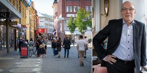 Arbetet för att öka tillgängligheten till Falu centrum och värna handeln pågår för fullt skriver kommunalrådet Mats Dahlberg (M). Foto: Karin Sundin, Emil Danielsson