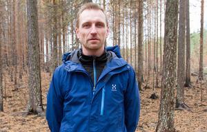 Andreas Eriksson har jobbat med utredningen sedan augusti. Han har kunnat återanvända många av erfarenheterna som gjordes efter branden i Västmanland 2014.