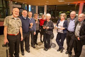 Torbjörn Westerberg,  Leif Tellestedt, Håkan Andersson, Inger Andersson, Eva Hansson, Birgitta Tellestedt, Lena Björk, Christer Björk, Gunnar Hansson.