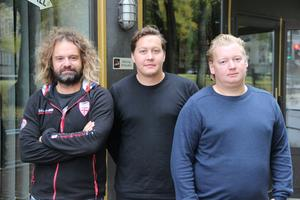 Daniel Arkenson, Mattis Holm och William Smedberg öppnar en ny mexikansk restaurang i Rackens lokaler.