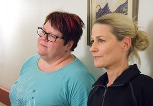 Ann Kvarnström är skyddsombud och Lena Frang hennes ersättare  vid Vallgården i Årsunda.