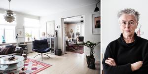 Sedan 1985 bor hon i villan i Härnösand. Lisa W Carlson arbetade tidigare som konstkonsulent på Landstinget Västernorrland och är nu konstnär på heltid.