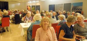 Över 160 medlemmar i SPF Borlänge firade 80 årsjubiléet på Domnarsvgården.