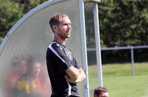 Mikael Wiker såg mycket positivt på lagets insats trots att det återigen blev förlust.