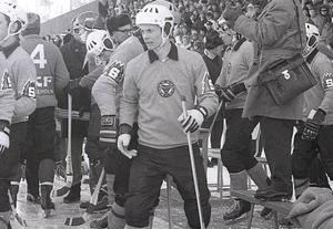 Håkan Sundin vann aldrig något SM-guld med klubben men var under tiden i Broberg landets bäste försvarare.