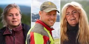 Jonna Dahlin, Jimmy Olofsson och Emelie Åström. Fotomontage: TV4/Fredrik Eliasson, Mittmedia