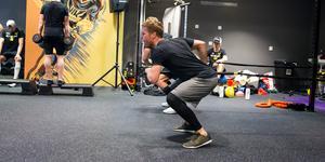 Fredrik Johansson och hans lagkamrater har dragit igång försäsongsträningen.