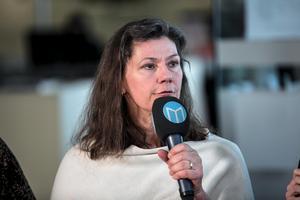 Maj Ardesjö (mp) deltog i DT:s debatt.
