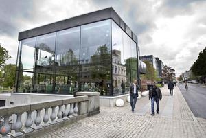 Brasserie Stadsparken. Arkivbild