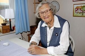 När Marit Björklund summerar sina första 100 år kan hon konstatera att det varit en väldigt bra tid.