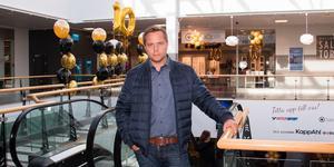 Marcus Andersson var med och grundade partiet för tio år sedan.