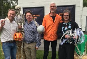 Rickard Bender, Robert Pukitis, Leif Carlsson och Emma Edqvist.