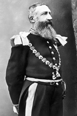 Den belgiske kungen Leopold II. Foto: Garter Knight