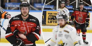 Det blir en hel del extra snack på isen för Sebastian Fakt när hans HHC ställs mot Östersund.