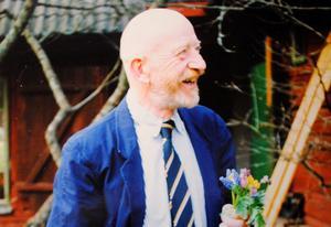 I en ålder av 83 år avled nyligen Jonas Pontén, Glanshammar. Foto: Privat