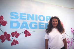 Lena Bergman är grundaren till Seniordagen i Norrtälje. Hon hoppas de får hålla samma event nästa år igen.