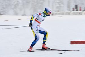 Hanna Falk var snabbast i prologen i Dresden. Bild: TT