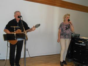 Cedrix från Sandhem uppträdde i samband med PRO:s årsmöte.