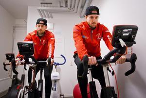Tylor och Tyson Spink har, av allt att döma, gjort sin sista match i Örebro Hockey-tröjan. Foto: Johan Bernström/Bildbyrån