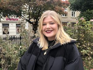 Klara Sparv pluggar numera till statsvetare i Göteborg.