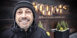 Stephane Cesareo, är Fords kommunikationschef i Europa. På Copperhill  i Åre huserar de utländska motorjournalisterna under sina två dagar i Jämtland.