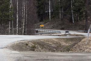 Reparationerna på Kalvstigen beräknas vara färdiga i slutet av juni.
