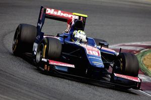 Höll andraplatsen. Marcus Ericsson både startade och slutade som tvåa i sprintracet i Singapore. ARKIVBILD: Malcolm Griffiths