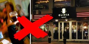 Förvaltningsrätten visar inte Olivia någon nåd. Nattklubben får inte fortsätta att servera alkohol i väntan på att deras överklagande prövas.