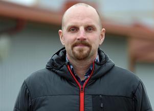 Mattias Wiberg, flygplatschef, gläds åt en ökning av antalet passagerare.