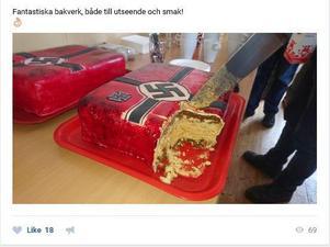 Tårtorna serverades enligt medlemmarna under Näste 4:as senaste träff på Rudegården i Vattjom. Bild: Skärmdump en av medlemmarnas sociala medier.