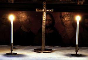 Debattören slår ett slag för kristendomen. Foto: Peter Krüger/Arkivbild