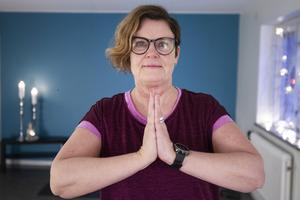 Förutom yogalärare är Ulrika Lindström även lärare i skolvärlden där hon arbetar på heltid.