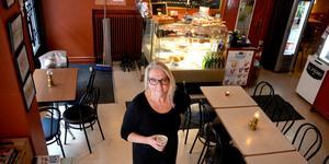 Gunilla Sjöberg har drivit City Café i 22 år. Nu vill hon sälja stans äldsta café.