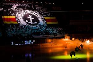 Brynäs har involverat supporterklubbarna i det nya introt för att få feedback. Bild: Kenta Jönsson / BILDBYRÅN.