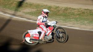 Andreas Jonsson slutade på 10:e plats i fjolårets GP-tävling i Hallstavik. Något han inte alls var nöjd med.