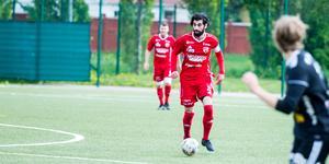 Velat Ucmaz har blivit spelande tränare i SFF, tillsammans med Jakob Eklund.