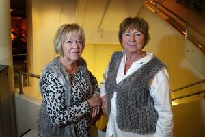 Gladys Ålmyr och Lena Mesch från Sundsvall ville uppleva nostalgin från gångna dansbandskvällar.